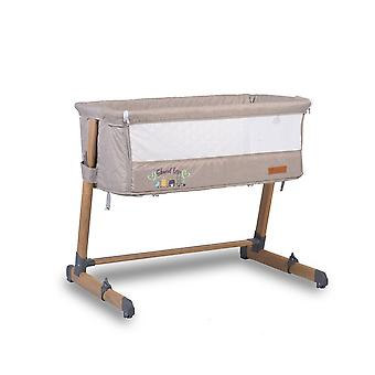 Cangaroo Baby Cot Shared Love, Multiple Height Ajustable, One Page to Open