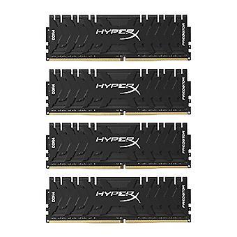 HyperX Predator HX430C15PB3K4/32 Memoria DDR4 32 Go Kit (4 x 8 Go), 3000 MHz CL15 DIMM XMP