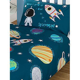 Solar System Planets & Space Duvet Cover Set