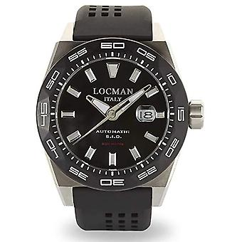 Locman Watches Men's Watch Stealth Automatic 0215V1-0KBKNKS2K