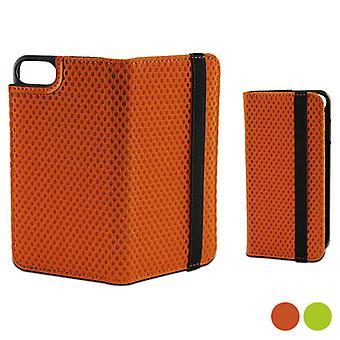 Folio mobiltelefon fodral med elastisk Iphone 7 Plus KSIX Sport / Grön