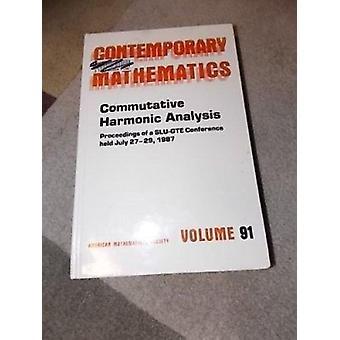 Commutative Harmonic Analysis by David Colella - 9780821850978 Book