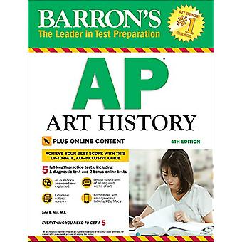 Barron's AP Art History with Online Tests by John B. Nici - 978143801
