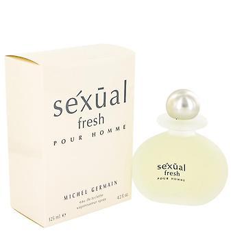 Sexual Fresh Eau De Toilette Spray By Michel Germain 4.2 oz Eau De Toilette Spray