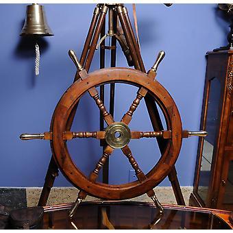 "30"" x 30"" x 2"" Ship Wheel"