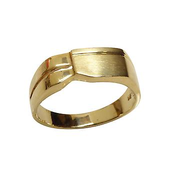Christian gold cachet ring