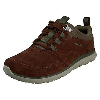 Mens Merrell Casual Lace Up Trainers Getway Locksle Lace LTR