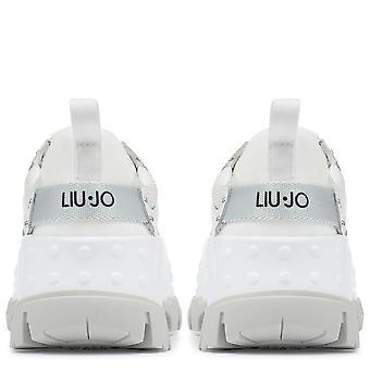 Liu Jo Womens Wave 01 Chunky Lace-Up Sneaker
