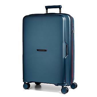 March15 Bel Air Handbagage Trolley S, 4 Wielen, 55 cm, 38 L, Blauw