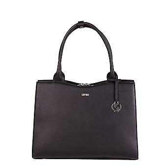 SOCHA Women's Handbag Straight Line Midi 39 cm, Black