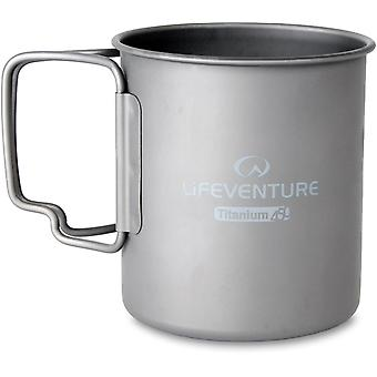 Lifeventure 450ml Titanium Mug