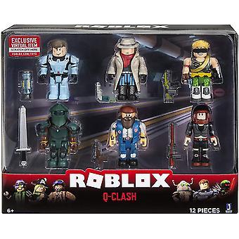 Roblox Q-Clash 6 Figuren Pack