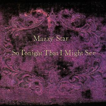 Mazzy Star - So Tonight That I Might See [Vinyl] USA import