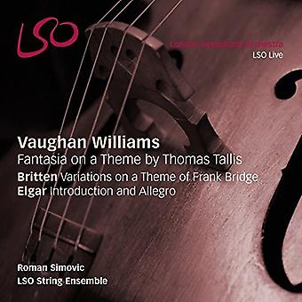Britten / Lgar / Roman Simovic / Lso String - Vaughan Williams: Orchestral Works [SACD] USA import