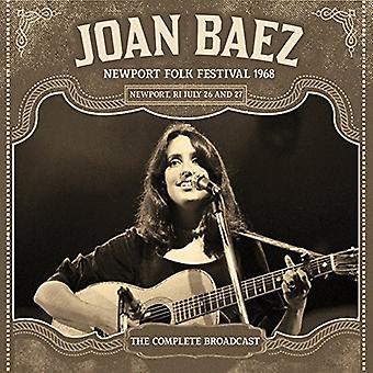 Joan Baez - Baez Joan-Newport 1968 [CD] USA import