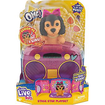 Little Live Pets OMG Pup Star Playset