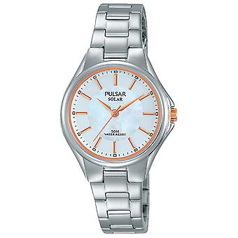 Pulse business Watch for Women Quartz Analog with PY5037X1 Stainless Steel Bracelet