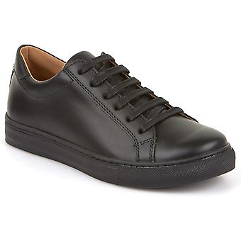 Froddo Boys G4130059 School Shoes Black Leather