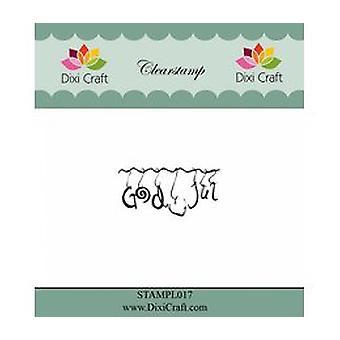 Dixi Craft God Jul 2 Clear Stamp