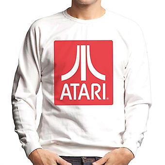 Atari Classic Red Block Logo Men's Sweatshirt