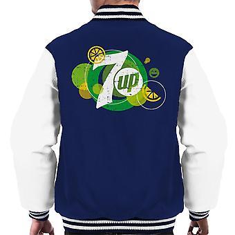 7UP Popfizz Citron Logo Män & Apos; s Varsity Jacka