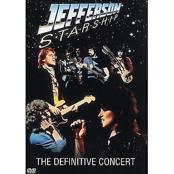 Jefferson Starship - Definitive Concert [DVD] USA import
