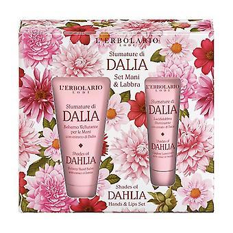 Set Hands & Lips Shades of Dahlia 1 unit (Citric - Floral)