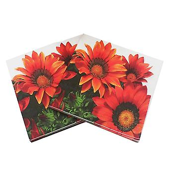 20pcs papel de girasol Napkin - Festas & Party Supply Tissue