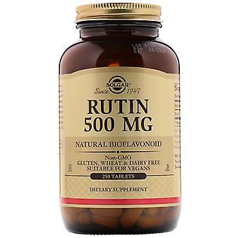 Solgar, Rutin, 500 mg, 250 Tablets