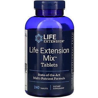 Prolongation de la durée de vie utile, comprimés de mélange de prolongation de la durée de vie utile, 240 comprimés