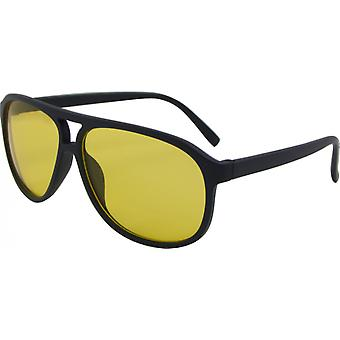 Sunglasses Unisex Wayfarer Kat. 3 blue/yellow (Basic 154-C)