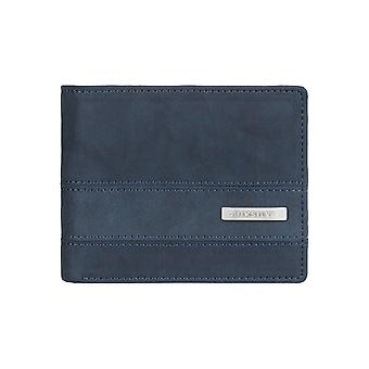 Quiksilver Arch Supplier Faux Leather Wallet in Navy Blazer