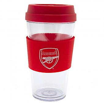Arsenal Clear Grip Travel Mug