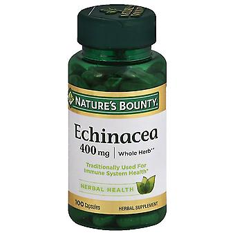 Nature's bounty echinacea, 400 mg, capsules, 100 ea *
