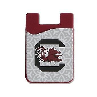 Jižní Karolína Gamecocks NCAA Módní mobilní telefon Peněženka
