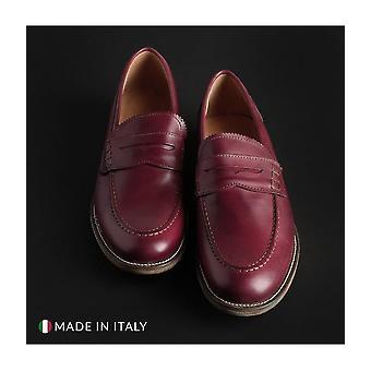 SB 3012 - Shoes - Moccasins - S1_CRUST_BORDEAUX - Men - Red - EU 39