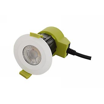 Dimmable LED Recessed Downlight, Blanc, 38 deg. Beam Angle, 760lm, 2700K, IP65, DRIVER INCLUS