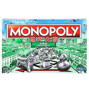 Hasbro Monopoly Fast Trade Real Estate Trading Game For Adult- Gaming