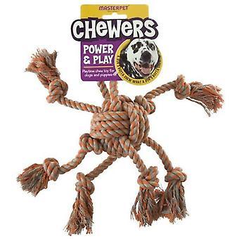 Chewers Rope Octopus Medium
