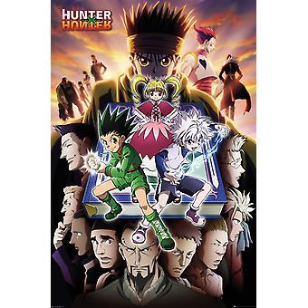 Hunter X Hunter Book Key Art Maxi Poster