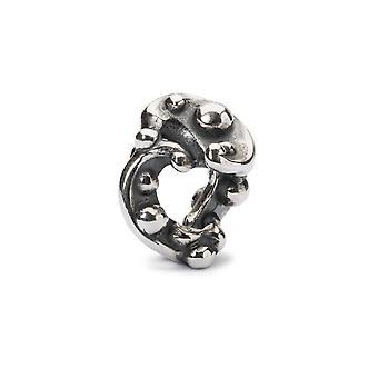 Trollbeads nacht droom zilveren kraal TAGBE-00255