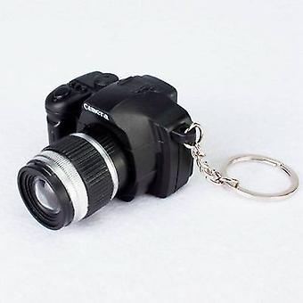 Cute Keychain Camera Led Luminous - Accessoires sac pendentif