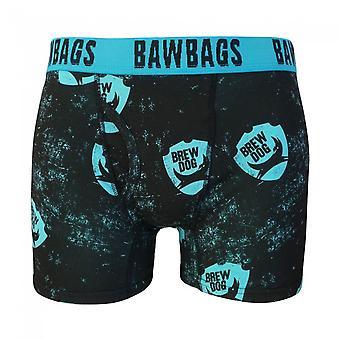 バウバッグス ブリュー ドッグ ボクサー ショーツ - ブラック