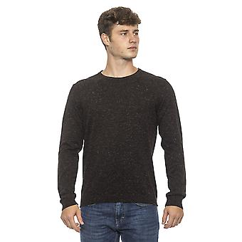 Pullover Marron Conte of Florence man