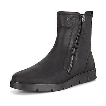 ECCO Ecco 282263 Bella Quarry Oil Nubuck Leather Boots In Black