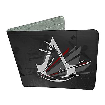 Assassins Creed Wallet Crest Logo new Official Black Bifold