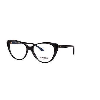 Cutler and Gross 1370 01 Black Glasses
