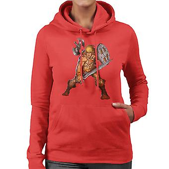 Masters Of The Universe He Man Armoured Women's Hooded Sweatshirt