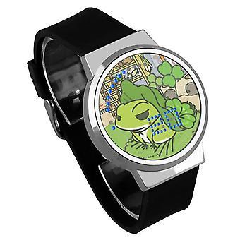 Waterproof Luminous LED Digital Touch Children watch - Travel frog #18