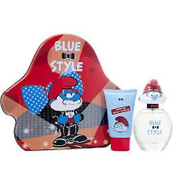 The Smurfs Papa Gift Set 50ml EDT + 75ml Bubble Bath